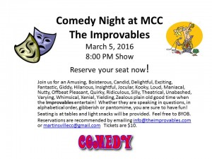 Comedy Night at MCC.030516